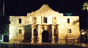 Spirit of Davy Crockett at the Alamo