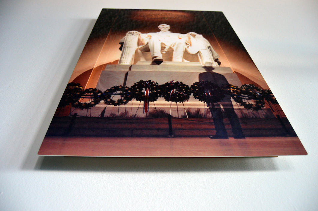 Aluminum Print Artwork of Abraham Lincoln
