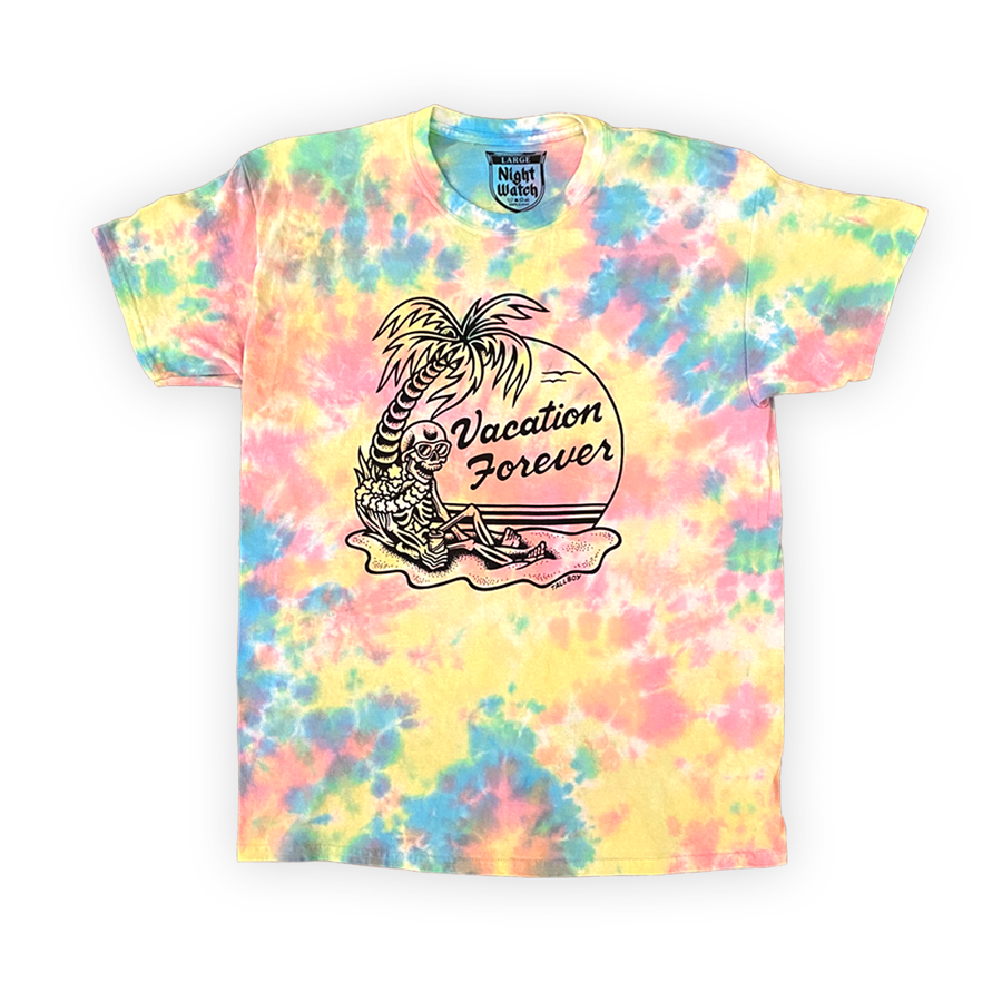 VACATION FOREVER Kustom Dyed Tee