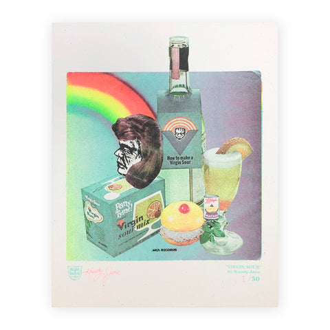 VIRGIN SOUR Print by Krusty Jane