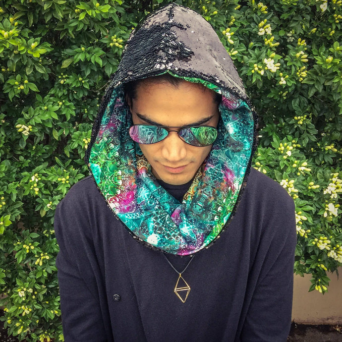 Sacred Geometry Infinity Scarf - Stardust Love