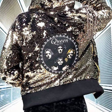 Legendary QUEEN Sparkle Hoodie Jacket - Stardust Love Star Jacket