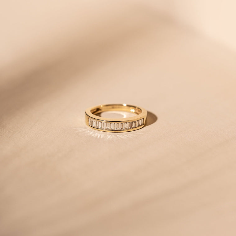 *Made To Order* Harlowe Band - 14k Solid Gold