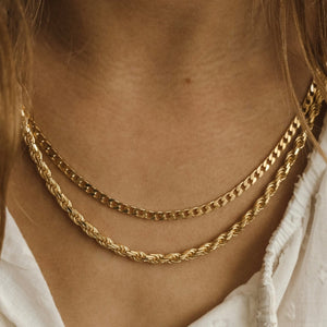 Curb Chain - Gold Vermeil