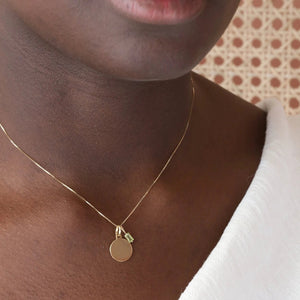 Creativity Charm Necklace - 10k Solid Gold