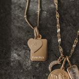 Load image into Gallery viewer, Amore Charm Necklace - Gold Vermeil