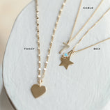 Load image into Gallery viewer, Star Charm - 10k Solid Gold