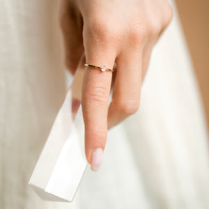 Coveted Moonstone Ring - 14k Solid Gold