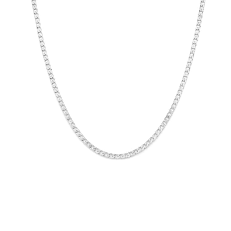 Men's Curb Chain - Sterling Silver