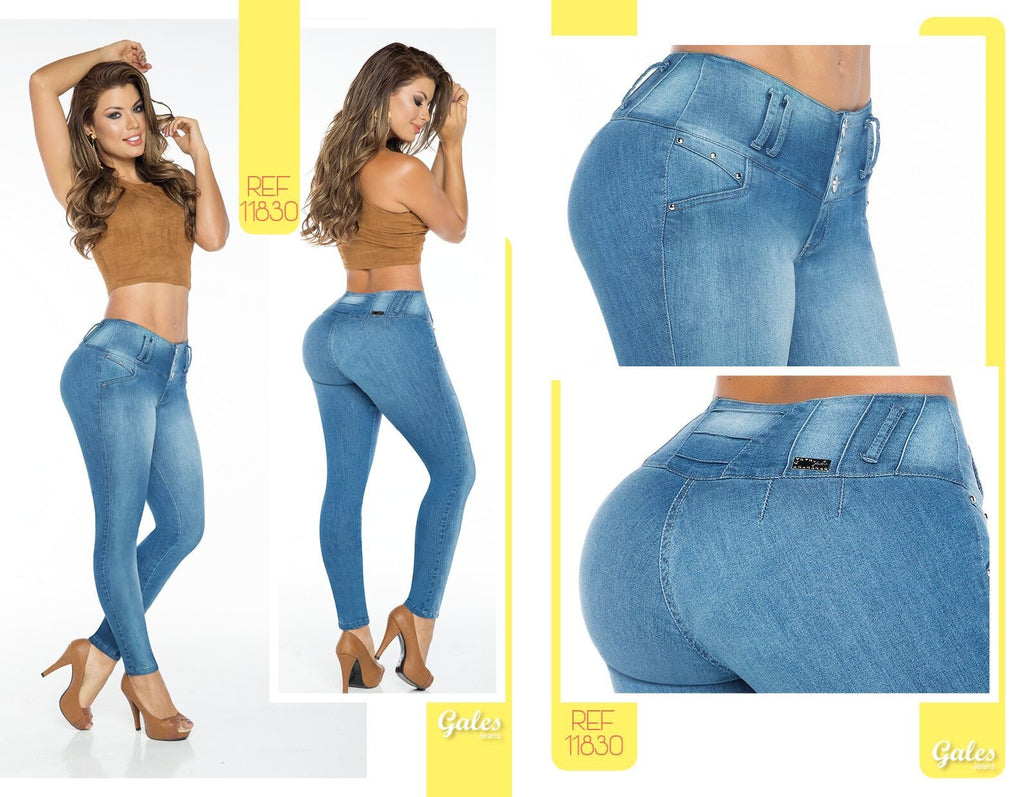 dfd9f05655 100% Authentic Colombian Push Up Jeans 11830 by Gales (R) - JDColFashion.