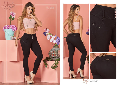 100%  Authentic Colombian Push Up Jeans 1724-3 by Muranos