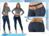 100%  Authentic Colombian Push Up Jeans 1724-3 by Muranos - JDColFashion.com