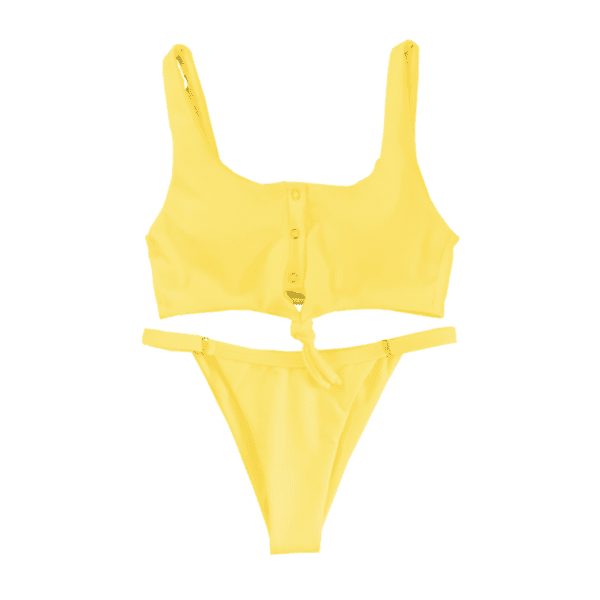 Little Knotty (Yellow) - Heartbreaker Swimwear
