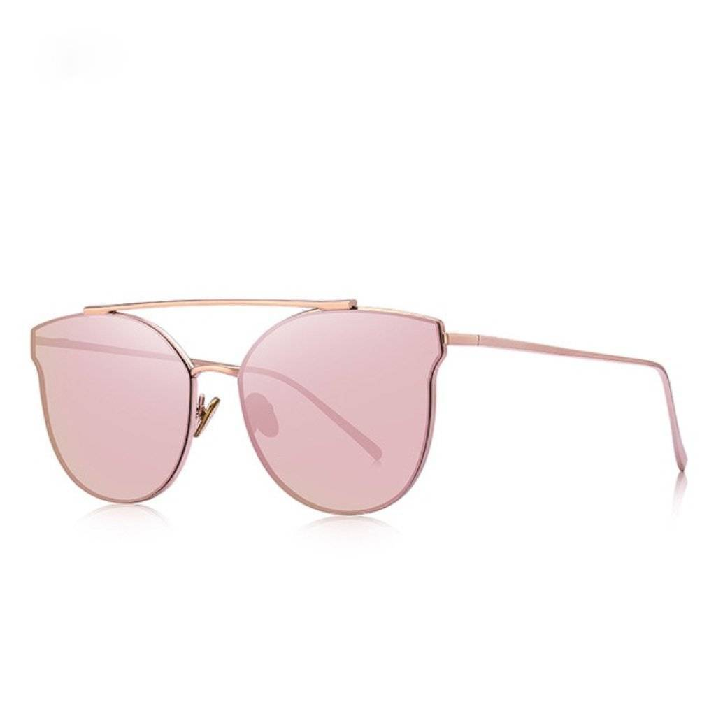 Luxe Pink Cat Eye Sunglasses - Heartbreaker International - Sunglasses