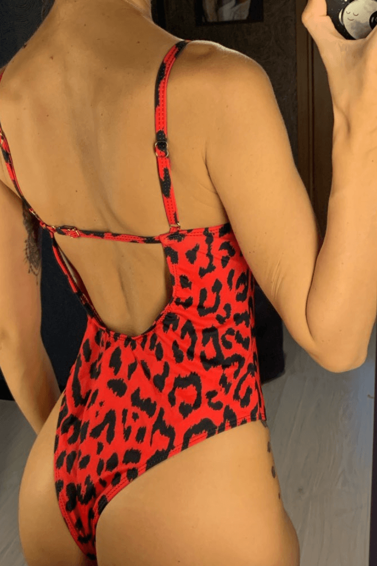Ignited - Heartbreaker International - One Piece Swimsuit