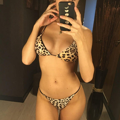 Saharan Leopard Bikini Set - Heartbreaker International - Two Piece