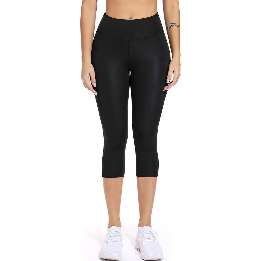 Ruched Legging with Pockets - Heartbreaker International - Active