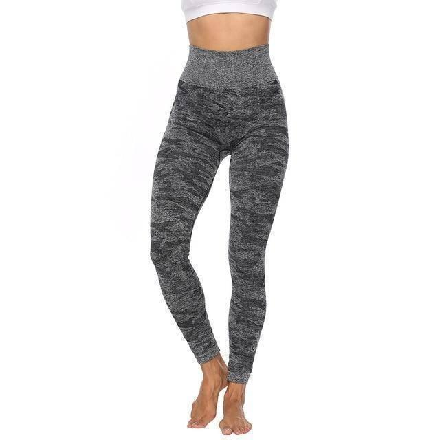 Camouflage Performance Leggings - Heartbreaker International - Active