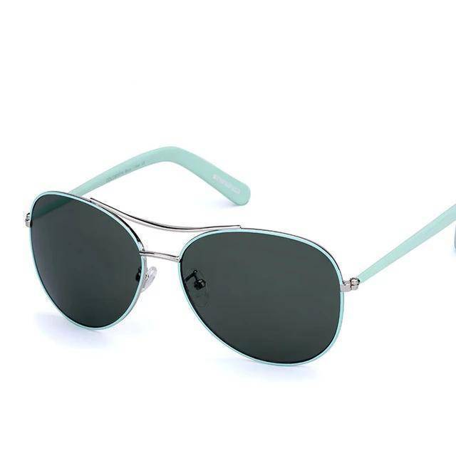 Classic Pilot Mint UV400 Sunglasses - Heartbreaker International - Sunglasses