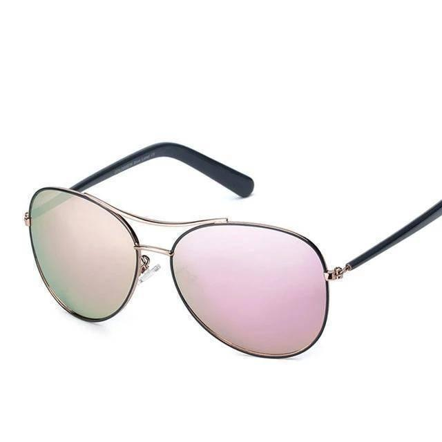 Classic Pilot Pink UV400 Sunglasses - Heartbreaker International - Sunglasses