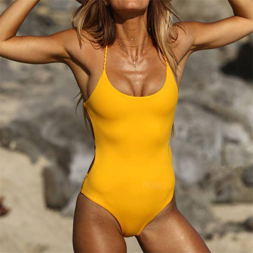 Lemon Drop - Heartbreaker International - One Piece Swimsuit