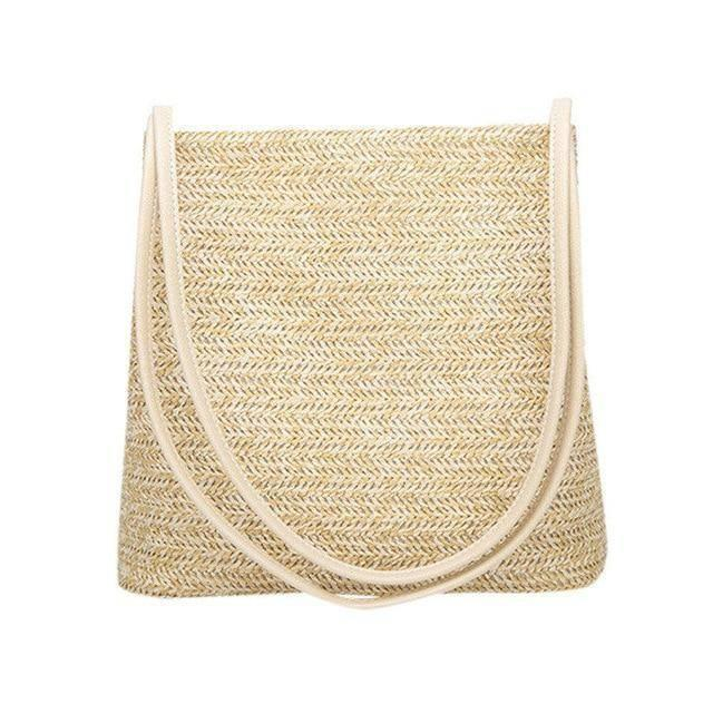 Weave Straw Handbag - Heartbreaker International bags