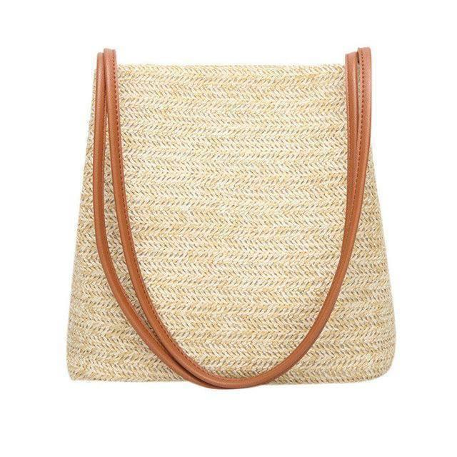Weave Straw Handbag - Heartbreaker International - bags