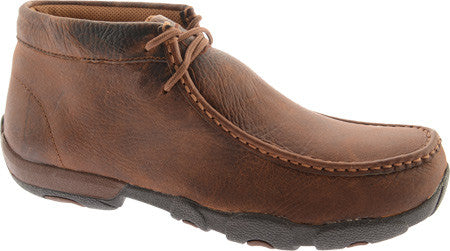Twisted X Mens Driving Moc D Toe Copper - silveradowesternwear - 1