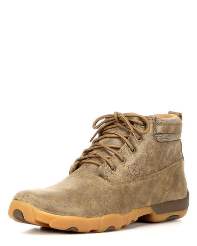 Twisted X Mens Driving Moc D Toe Bomber Shoe - silveradowesternwear - 1