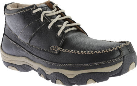 Twisted X Mens Hiker D Toe Softy Black Lace Up Shoe - silveradowesternwear - 1