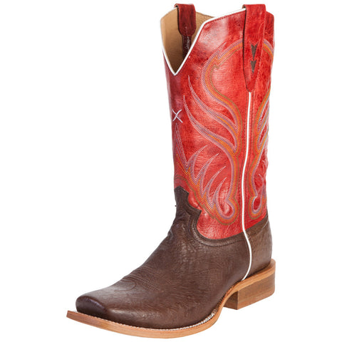 Men's Twisted X Rancher Cigar Smooth Ostrich Cowboy Boots - silveradowesternwear - 1