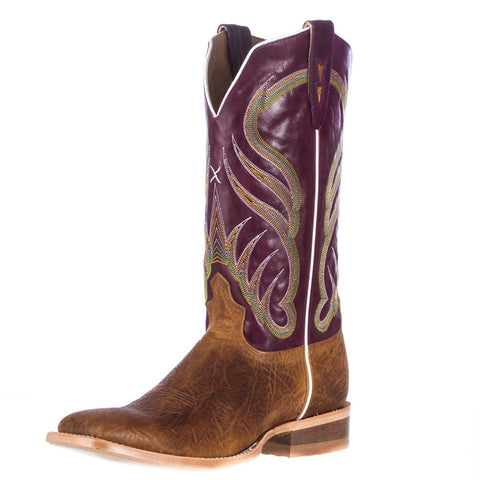 Men's Twisted X Rancher Waxed Suntan Shoulder Cowboy Boots - silveradowesternwear - 1