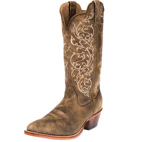 Twisted X Women's Western R Toe Bomber Cowgirl Boots - silveradowesternwear - 1