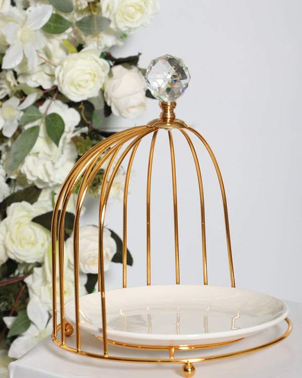 Carriage Stand- Gold