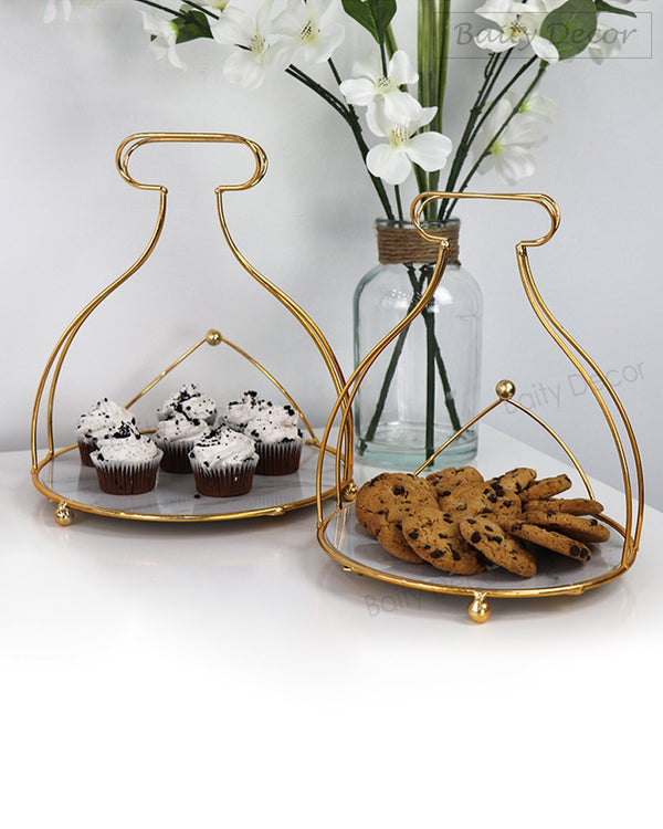 2 Elegant Serving Stands (4608093683769)