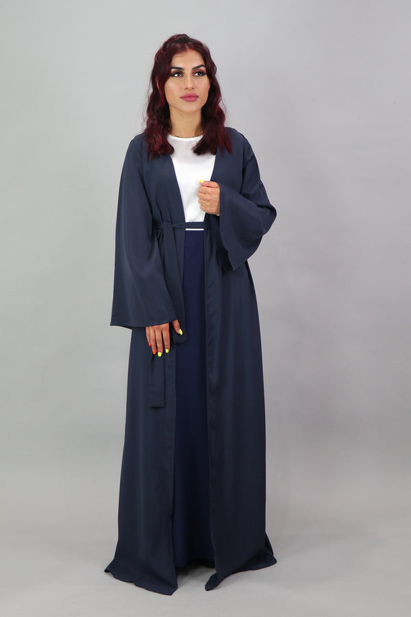 Deluxe Soft Longline Cardigan- Navy Blue