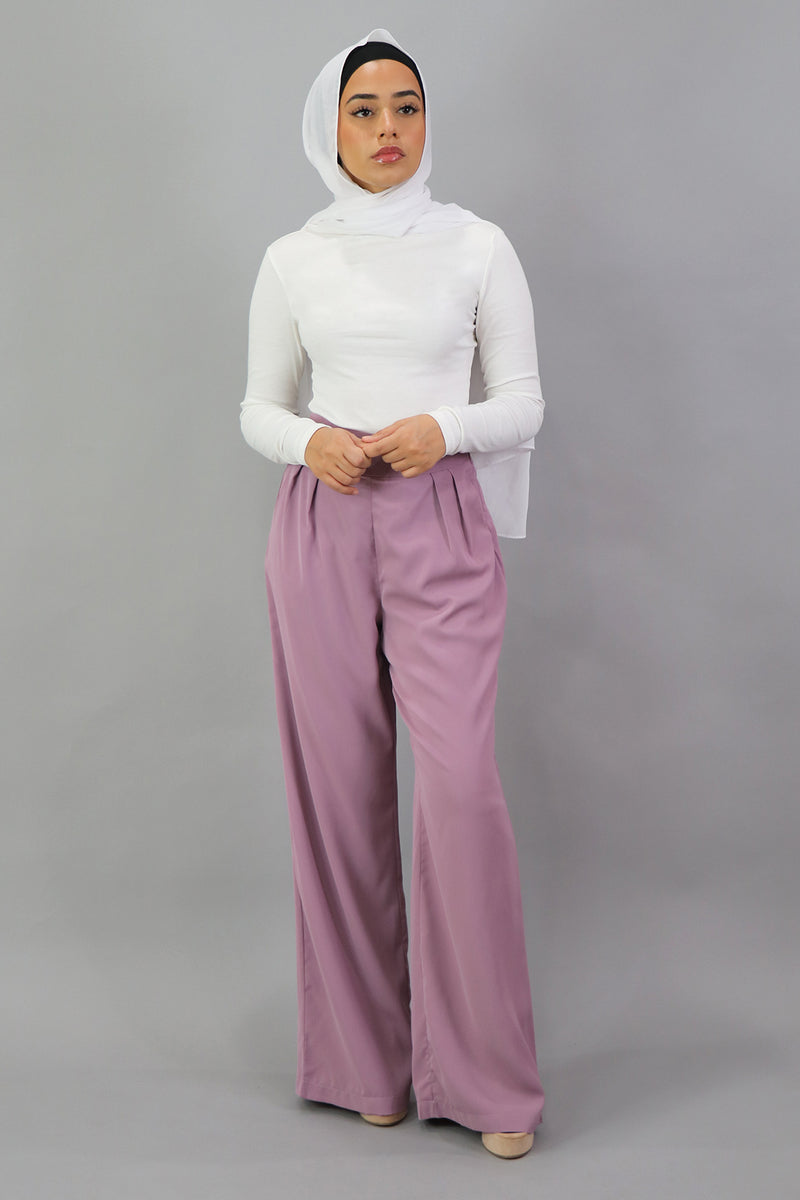 Deluxe Soft Pants - Pastel Pink