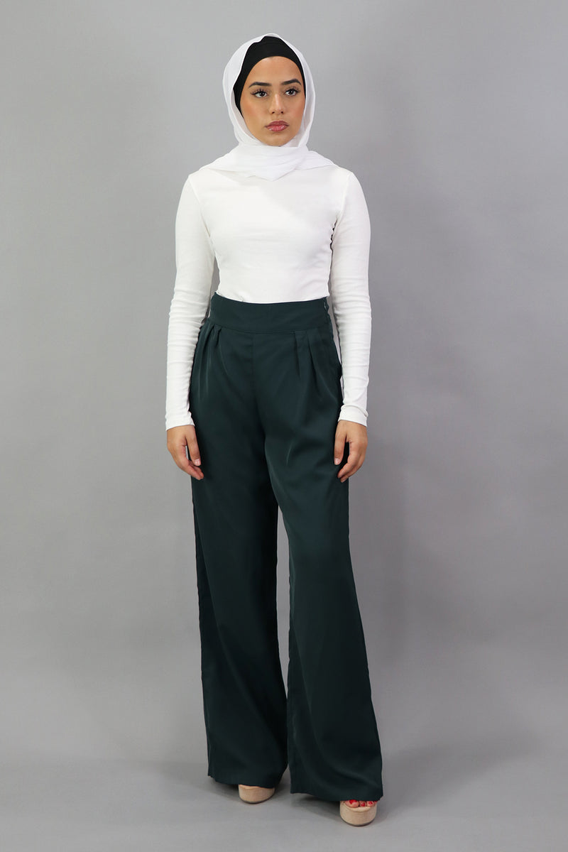 Deluxe Soft Pants - Jade Green
