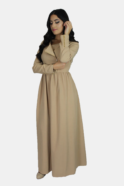Gold Multiway Maxi Dress (699657257017)
