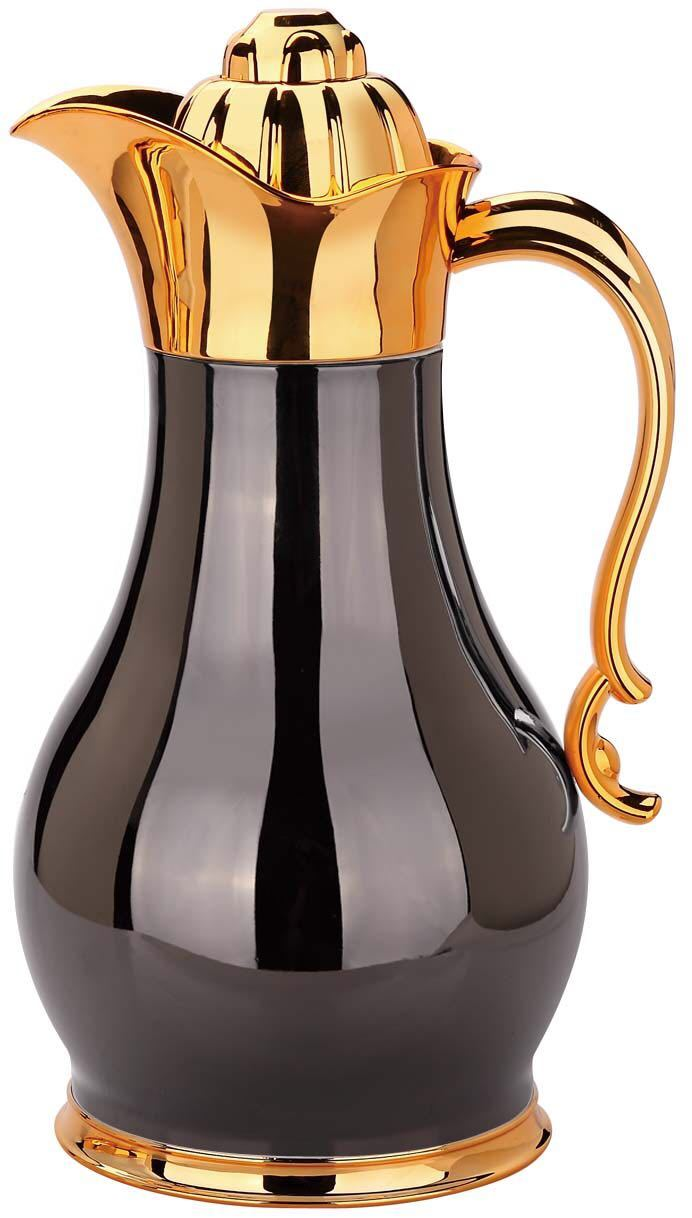 GOLD & BLACK VACUUM FLASK (4607973490745)