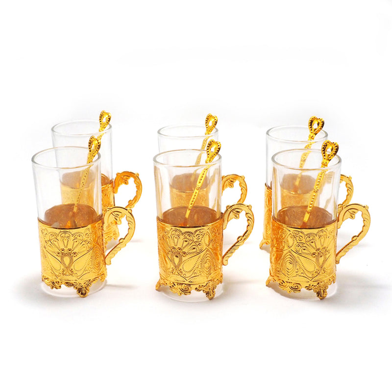 Elegant Gold Plated Cups - 6 Pack (4607973523513)
