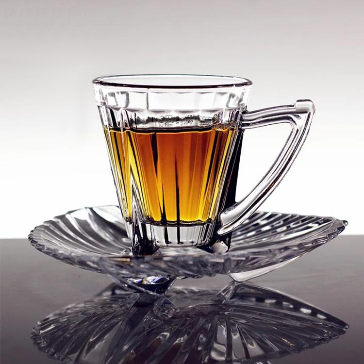 Luxury 6 Pc tea cups and saucer (4608125304889)