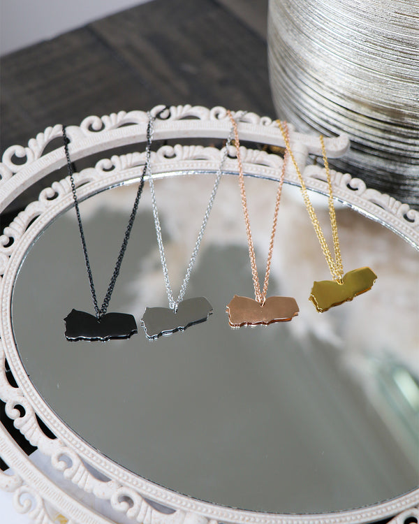 Birthplace Map Necklace- Yemen