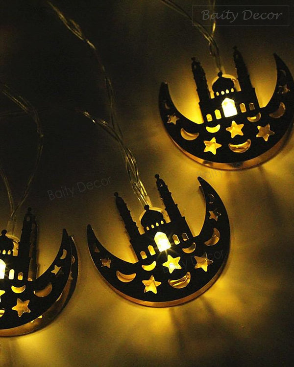 Ramadan/Eid Moon String Lights (4608199393337)