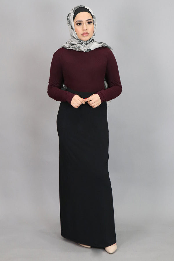 Mahogany Long Sleeve Top (4549414518841)
