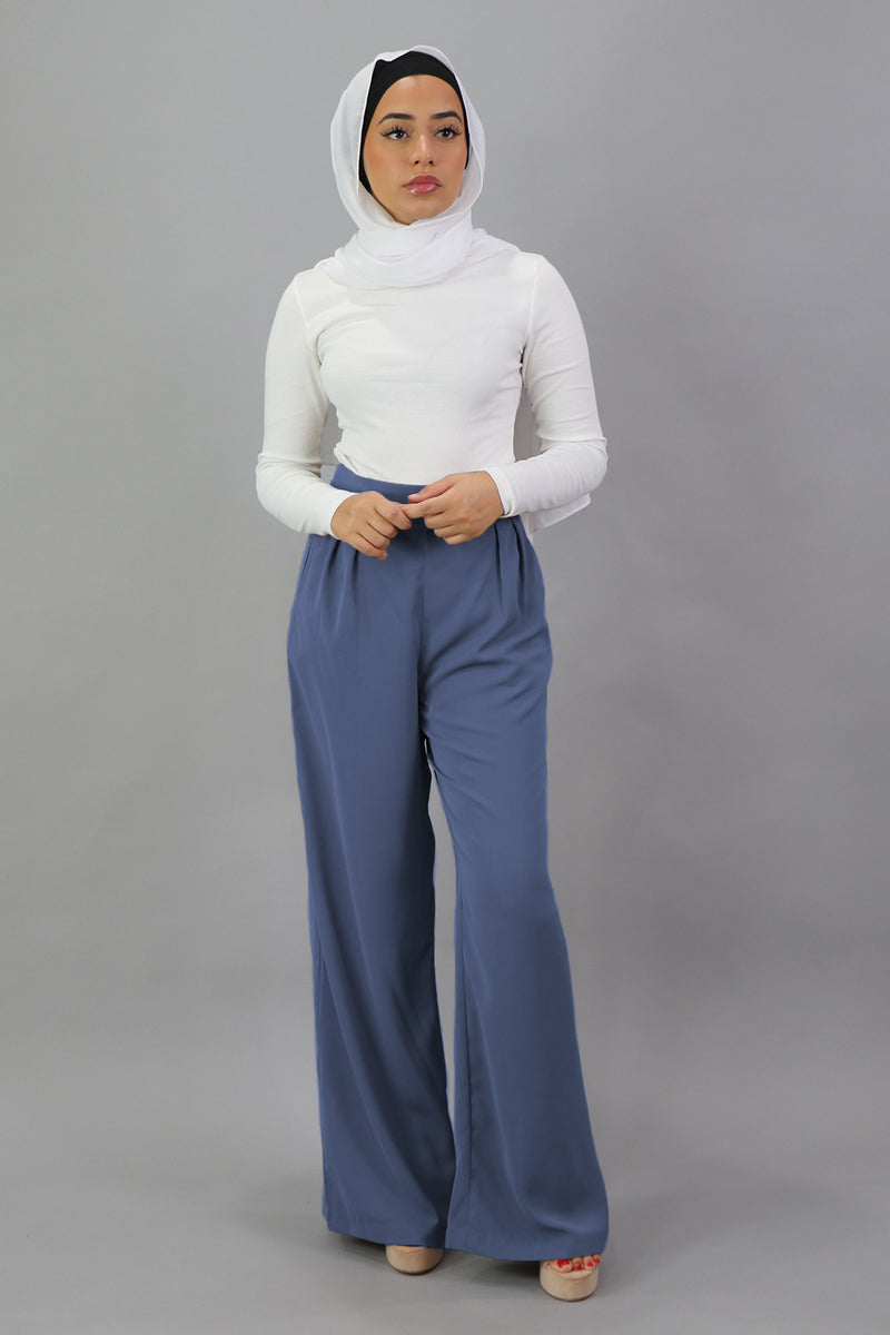 Deluxe Soft Pants - Blue Gray