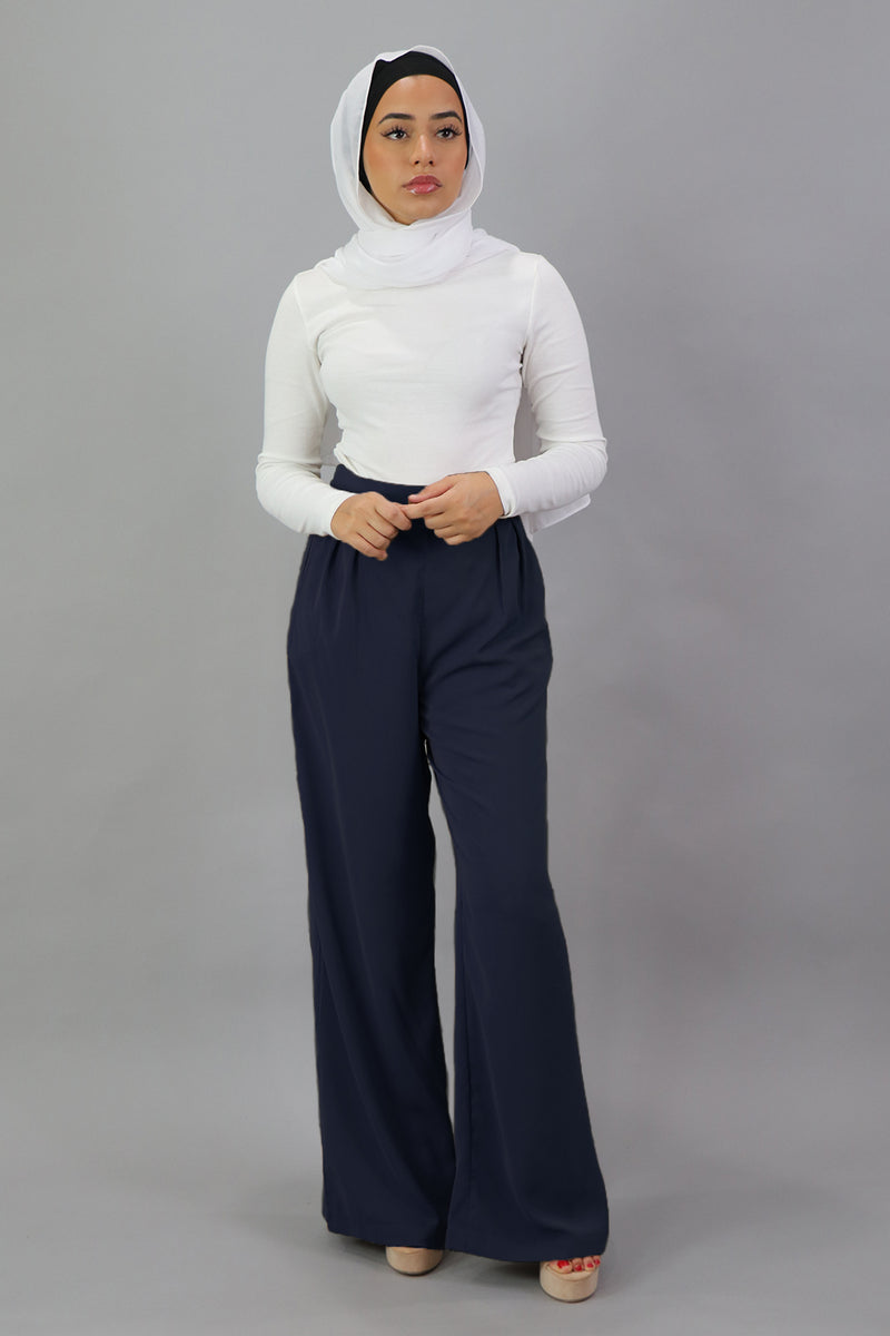 Deluxe Soft Pants - Navy Blue