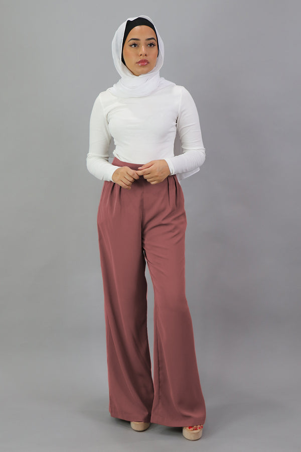 Deluxe Soft Pants - Rusty Pink