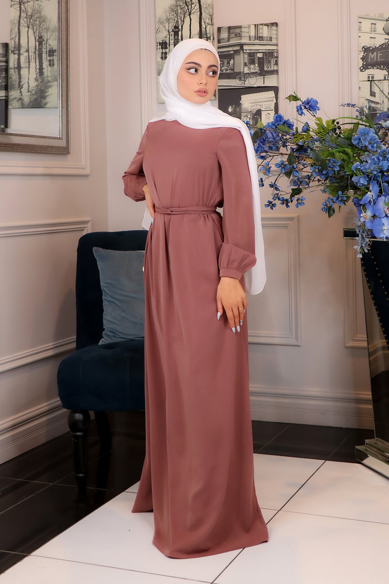 Rusty Pink Deluxe Soft Maxi Dress