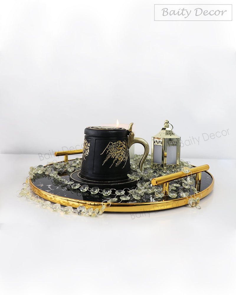 Black and Gold Tray (4608184549433)
